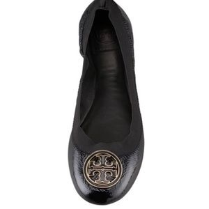 Tory Burch Carolina-Black Patent Leather